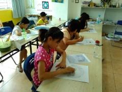 东莞松山湖儿童学画画